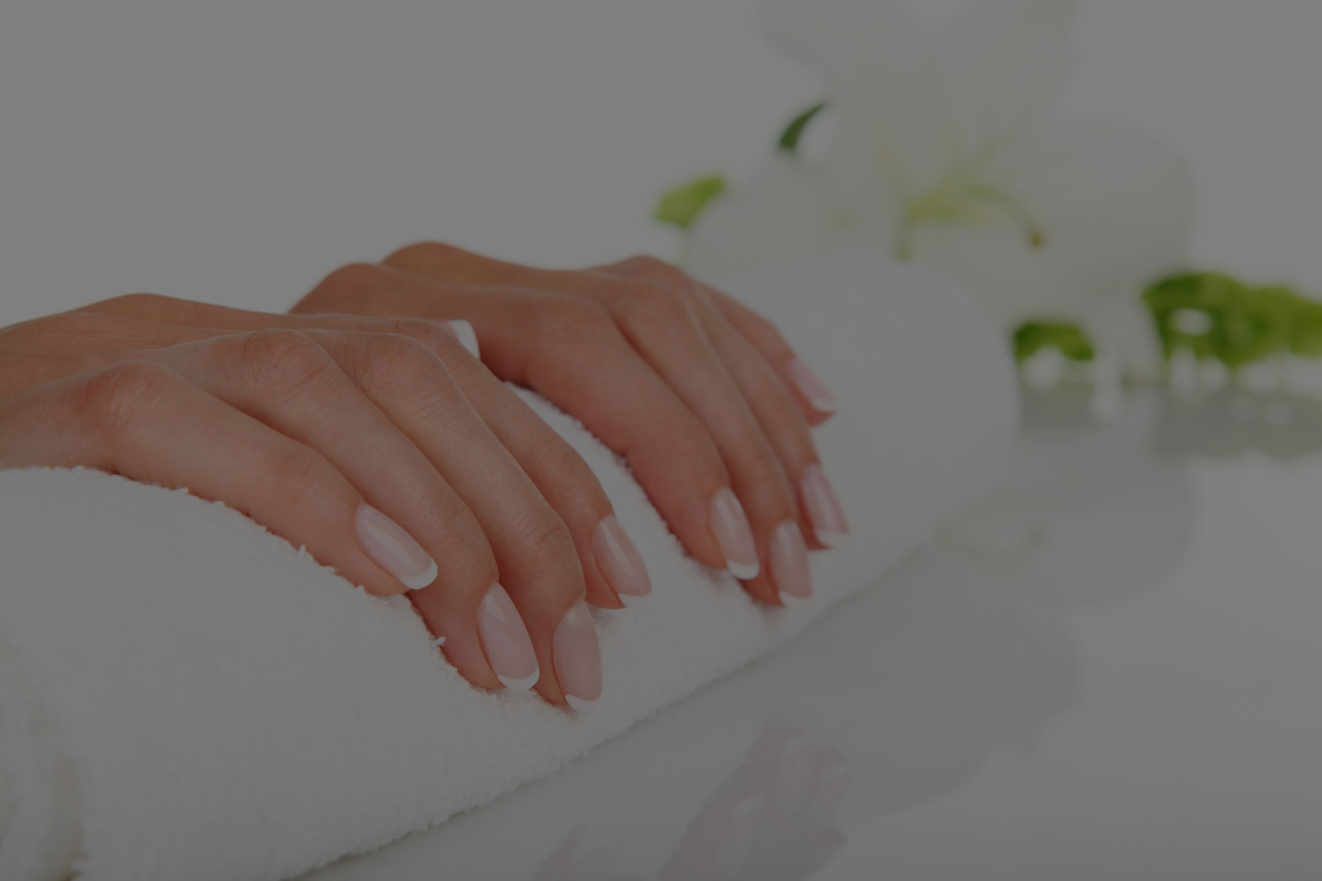 Relax and pamper yourself with a manicure